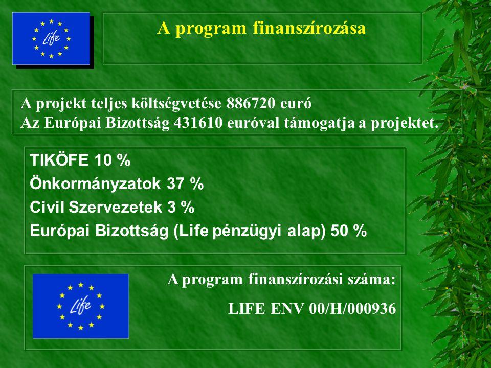 A program finanszírozása