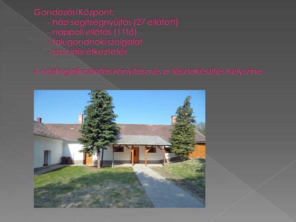 Gondozási Központ:. - házi segítségnyújtás (27 ellátott)