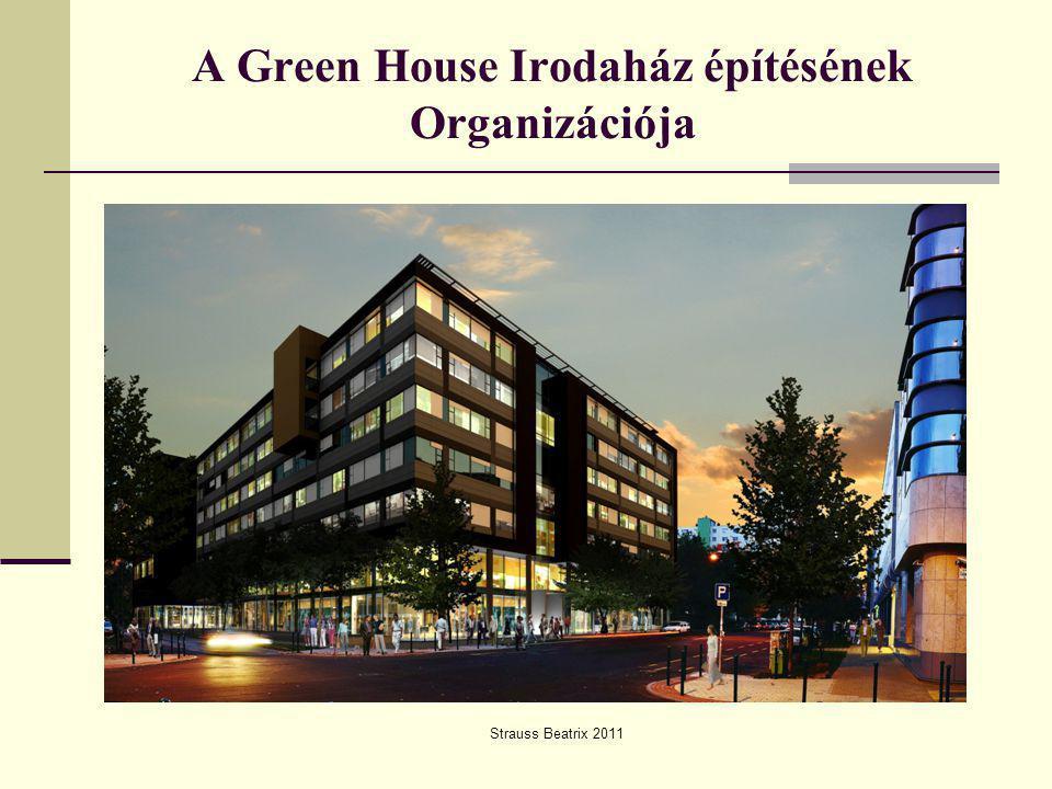 A Green House Irodaház építésének Organizációja