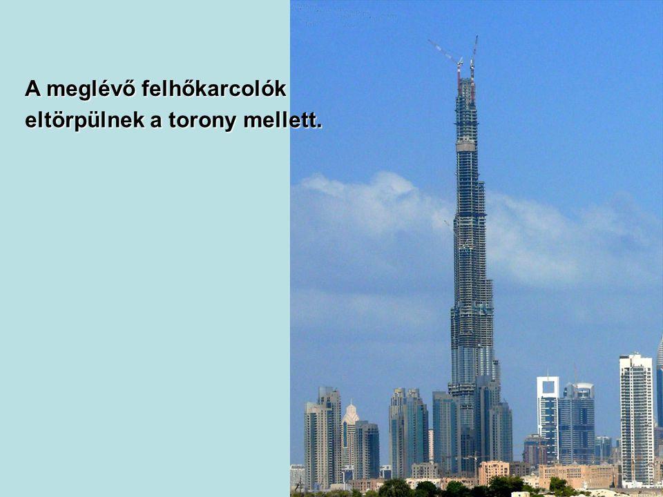 A meglévő felhőkarcolók