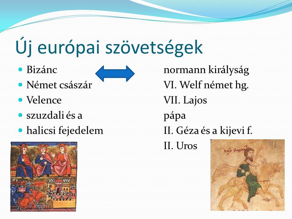 Új európai szövetségek