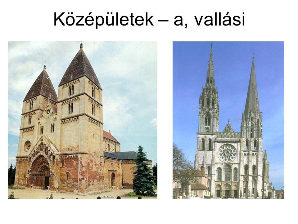 Középületek – a, vallási