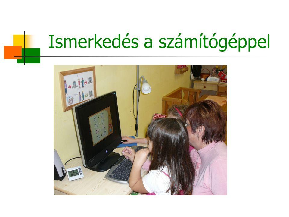 Ismerkedés a számítógéppel