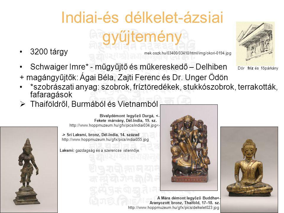 Indiai-és délkelet-ázsiai gyűjtemény