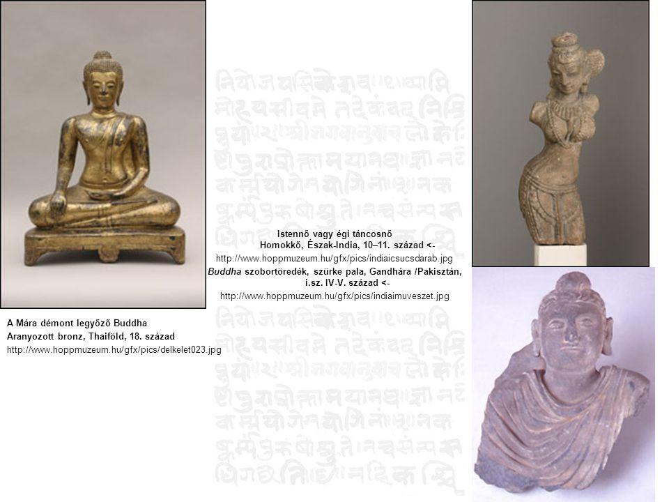 Istennő vagy égi táncosnő Homokkő, Észak-India, 10–11. század <-