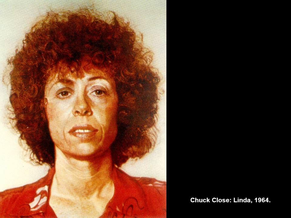 Chuck Close: Linda, 1964.