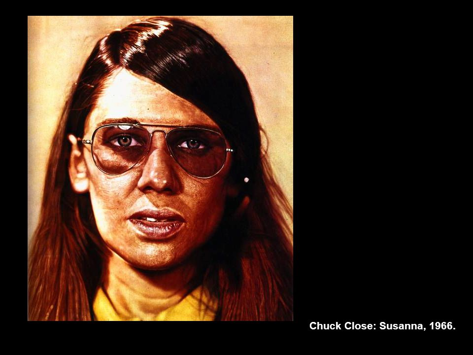 Chuck Close: Susanna, 1966.