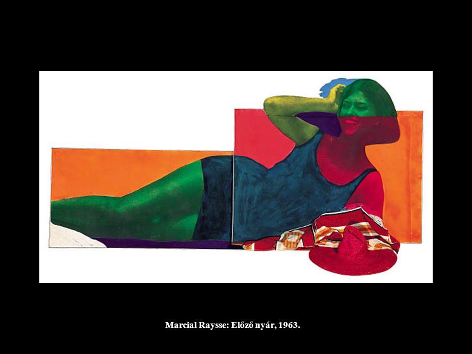 Marcial Raysse: Előző nyár, 1963.