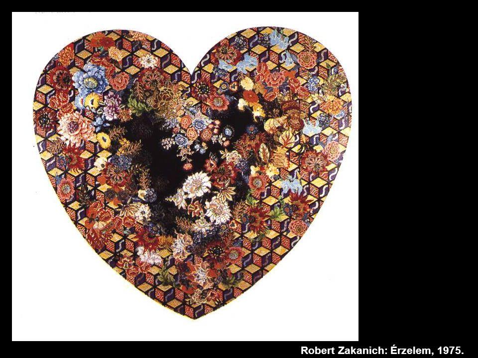 Robert Zakanich: Érzelem, 1975.