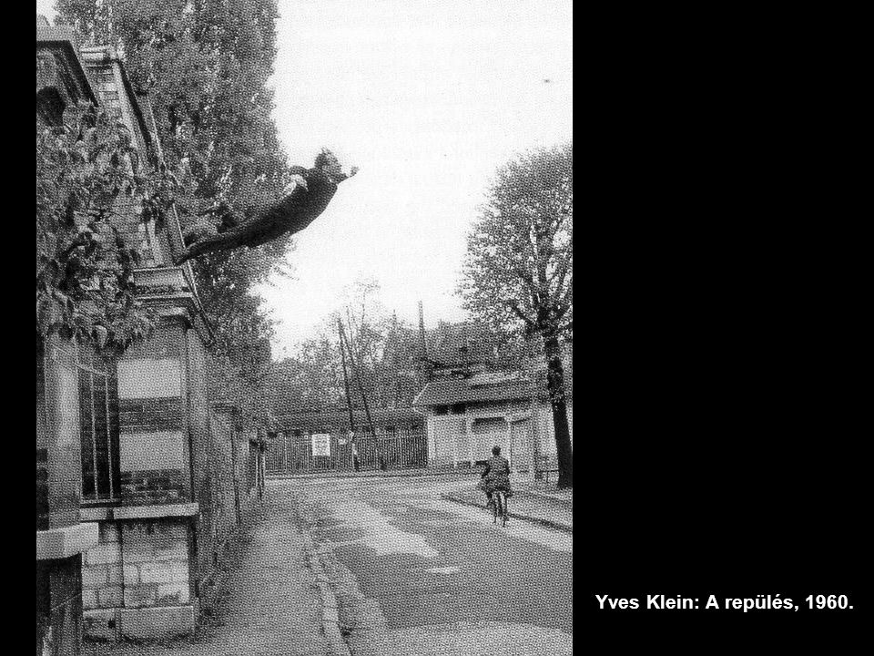 Yves Klein: A repülés, 1960.