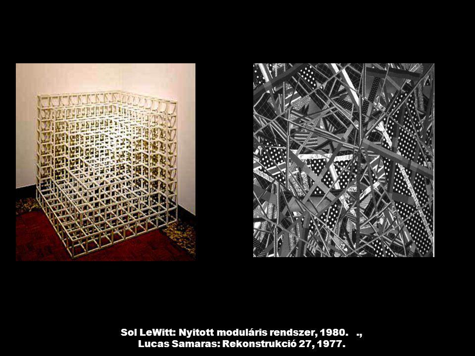 Sol LeWitt: Nyitott moduláris rendszer, 1980