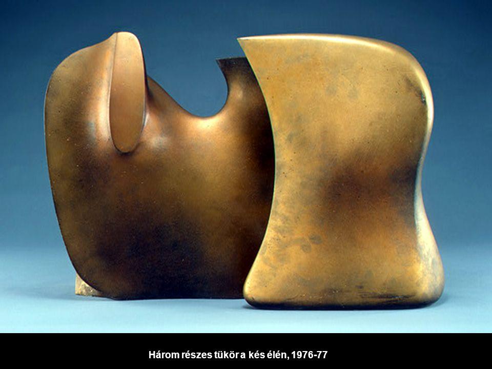 Három részes tükör a kés élén, 1976-77