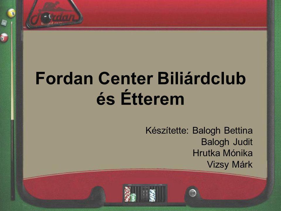 Fordan Center Biliárdclub és Étterem