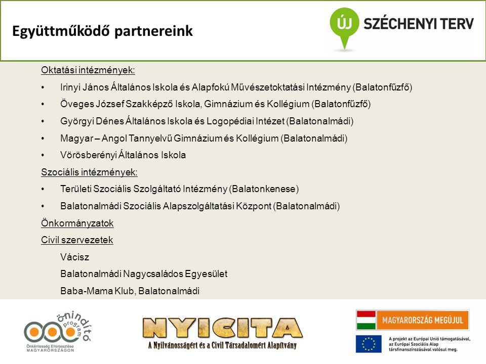 Együttműködő partnereink