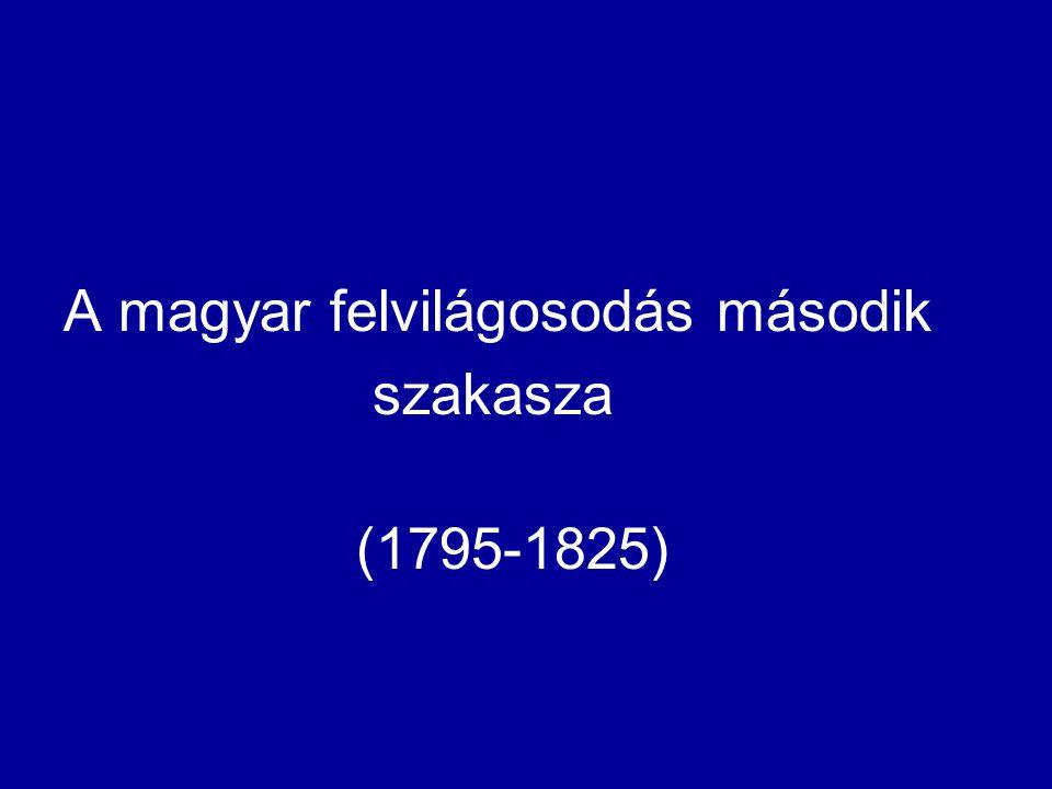 A magyar felvilágosodás második