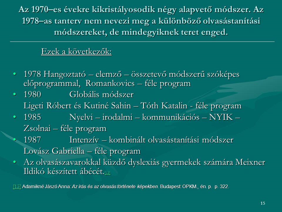 Ligeti Róbert és Kutiné Sahin – Tóth Katalin - féle program