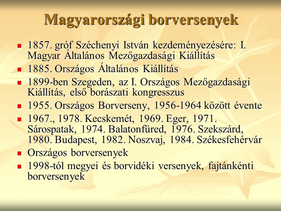 Magyarországi borversenyek