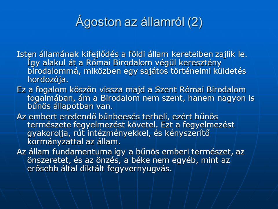 Ágoston az államról (2)