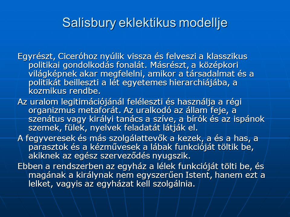 Salisbury eklektikus modellje