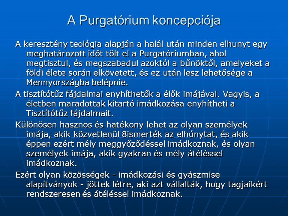 A Purgatórium koncepciója