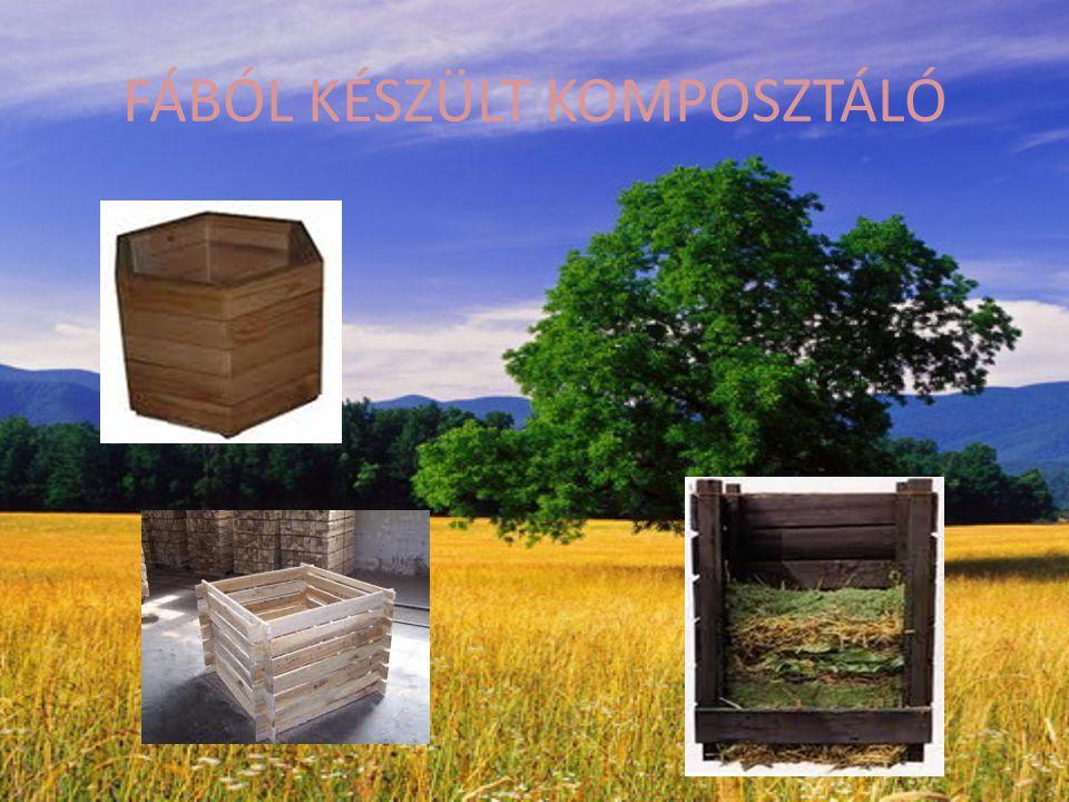 FÁBÓL KÉSZÜLT KOMPOSZTÁLÓ