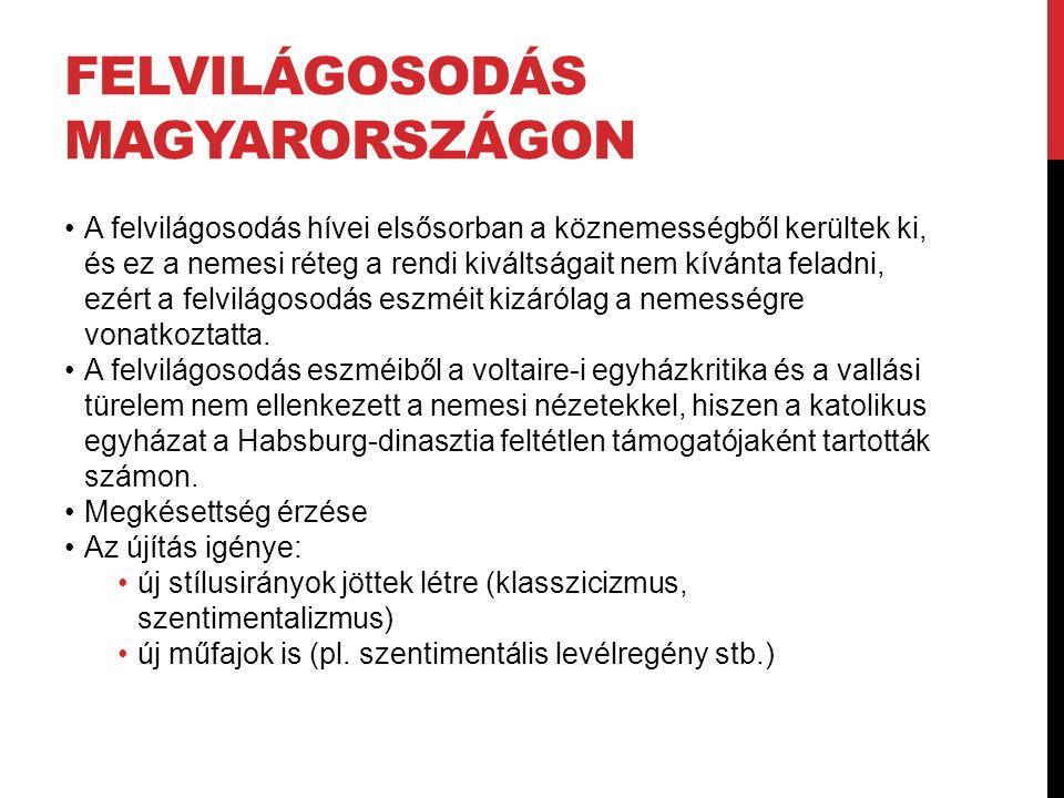 Felvilágosodás Magyarországon