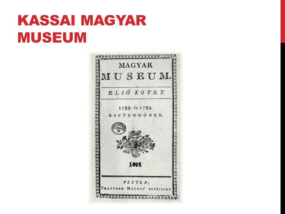 Kassai Magyar Museum