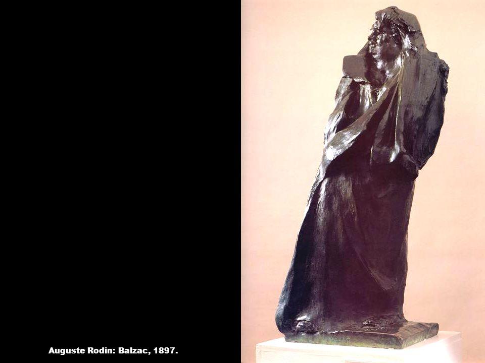 Auguste Rodin: Balzac, 1897.