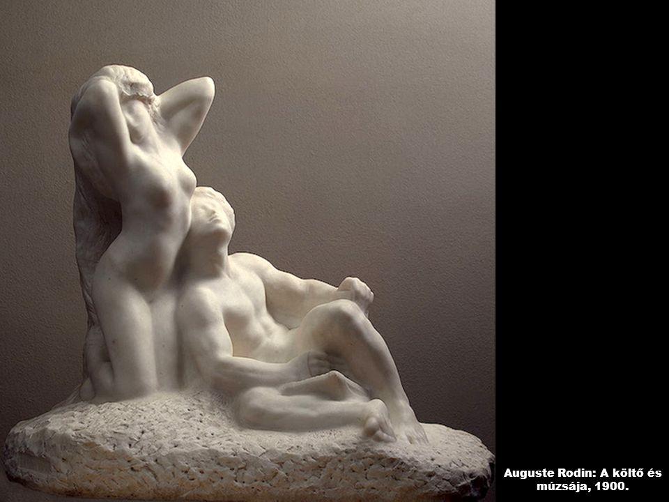 Auguste Rodin: A költő és múzsája, 1900.