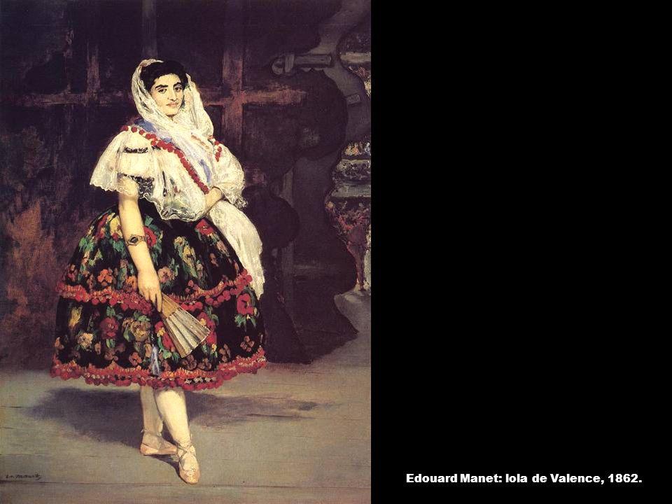 Edouard Manet: lola de Valence, 1862.