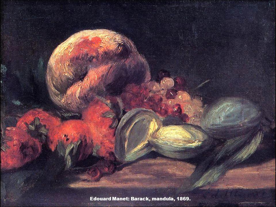 Edouard Manet: Barack, mandula, 1869.