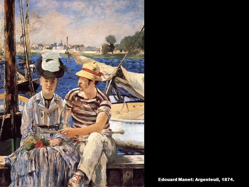 Edouard Manet: Argenteuil, 1874.