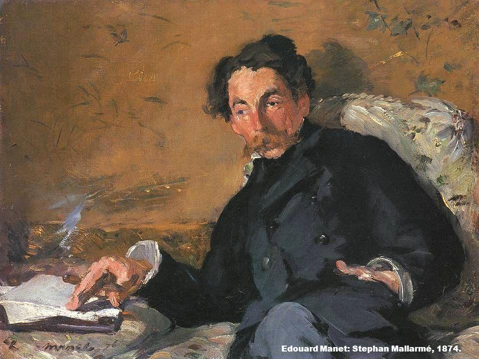 Edouard Manet: Stephan Mallarmé, 1874.