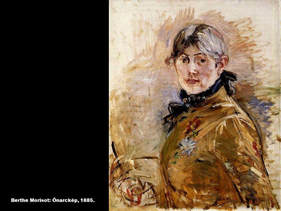 Berthe Morisot: Önarckép, 1885.