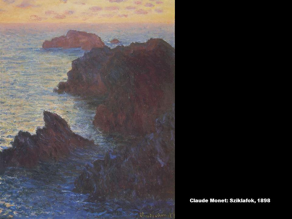 Claude Monet: Sziklafok, 1898