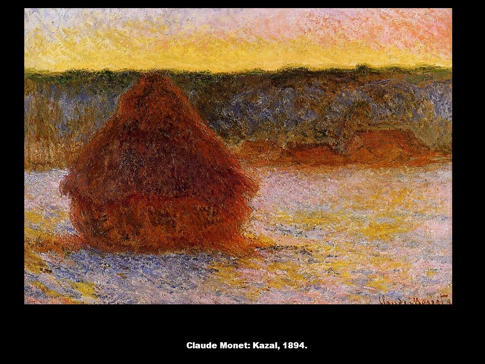 Claude Monet: Kazal, 1894.