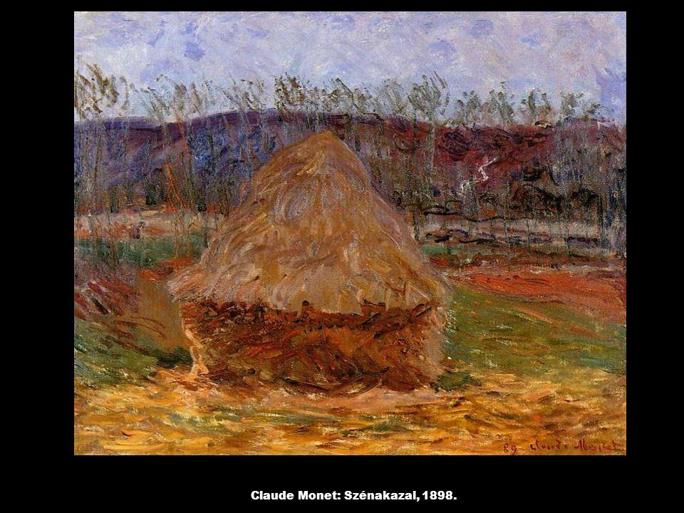 Claude Monet: Szénakazal, 1898.
