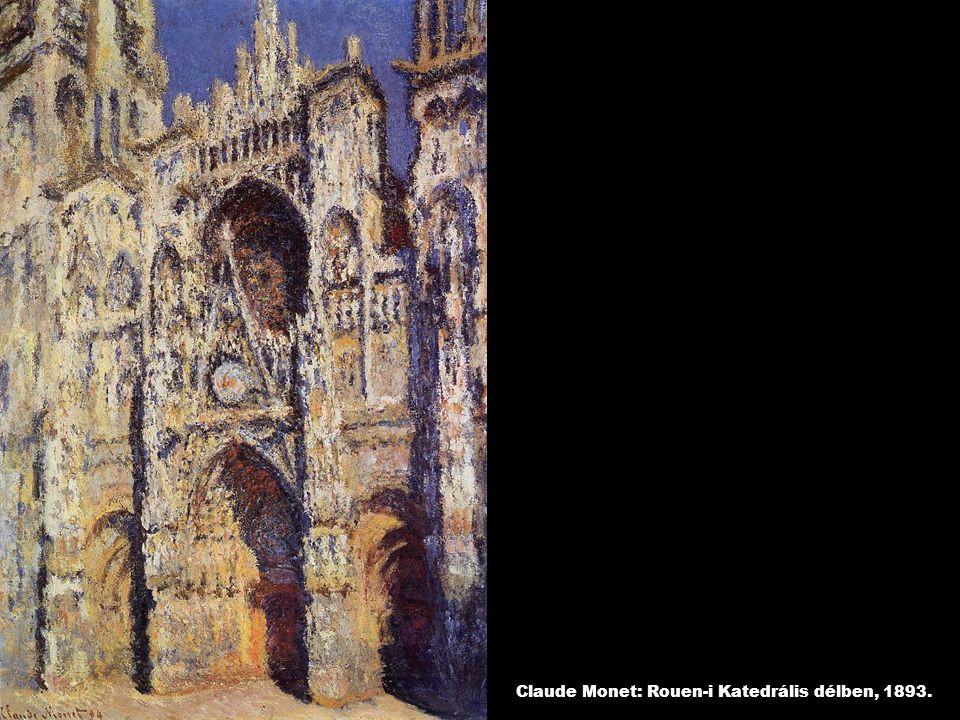 Claude Monet: Rouen-i Katedrális délben, 1893.
