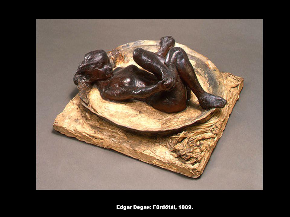 Edgar Degas: Fürdőtál, 1889.