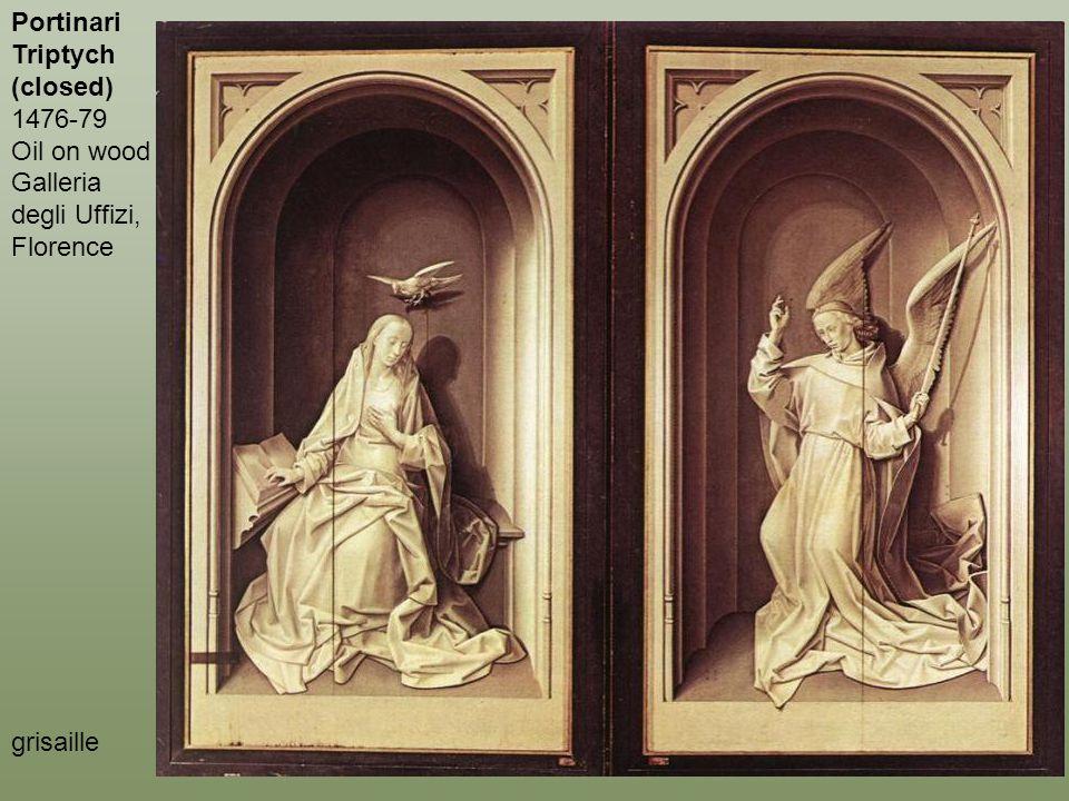 Portinari Triptych (closed) 1476-79 Oil on wood Galleria degli Uffizi, Florence