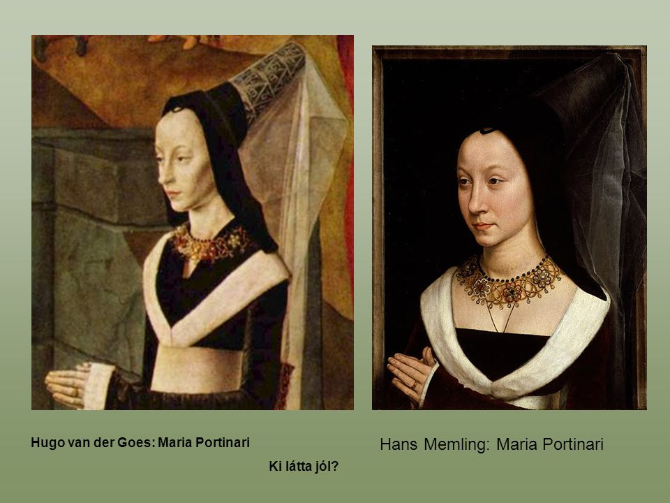Hans Memling: Maria Portinari