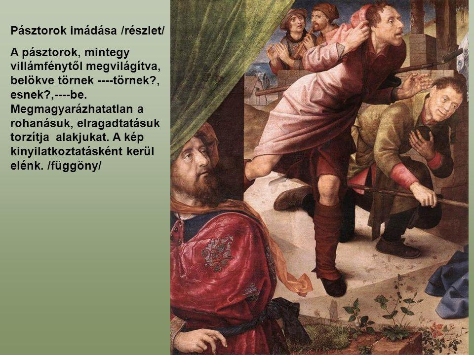 Pásztorok imádása /részlet/