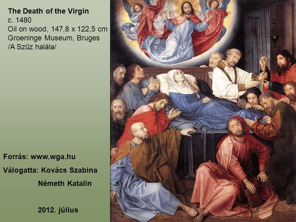 The Death of the Virgin c