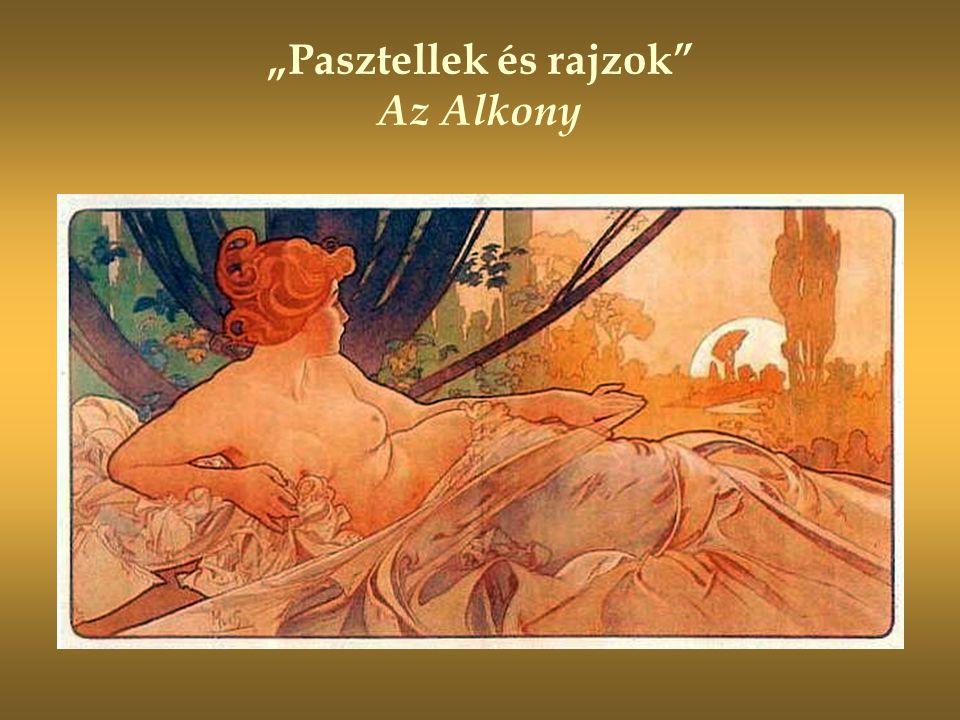 """""""Pasztellek és rajzok Az Alkony"""