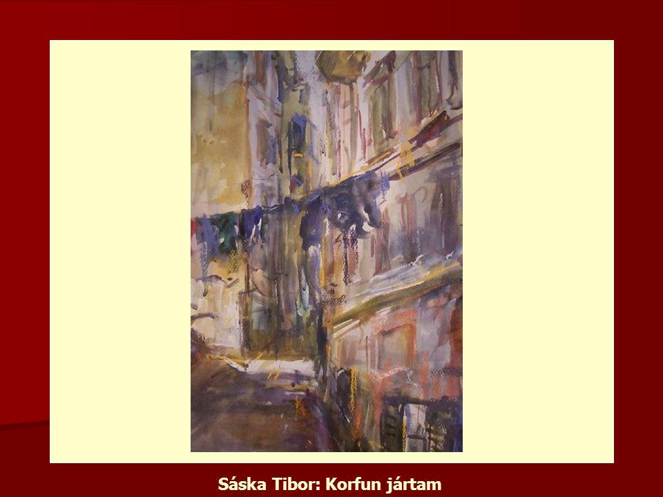Sáska Tibor: Korfun jártam