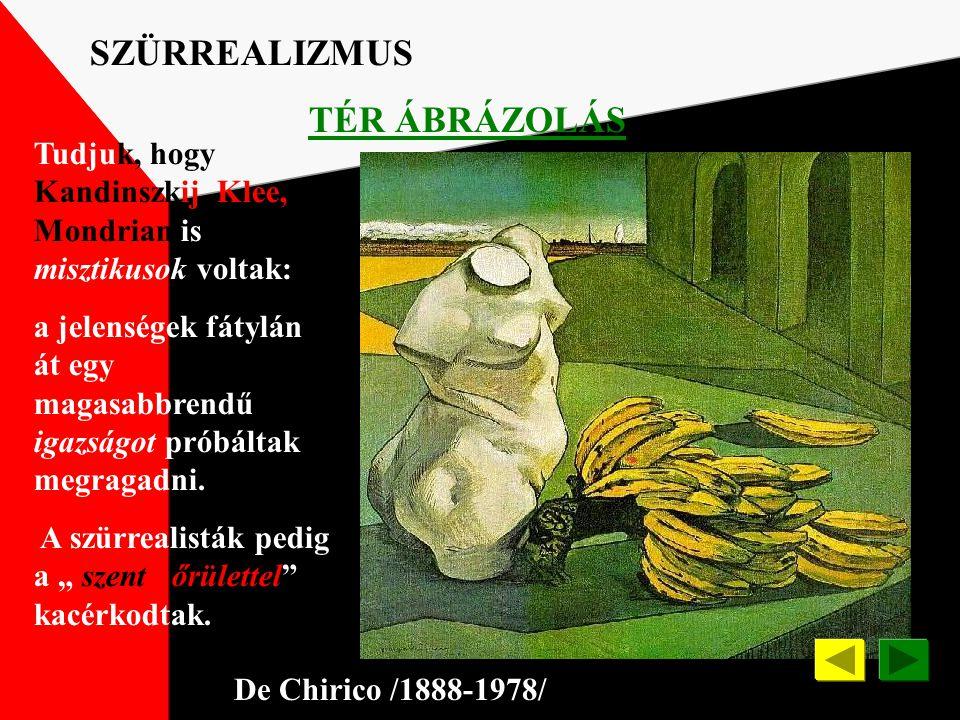 SZÜRREALIZMUS TÉR ÁBRÁZOLÁS