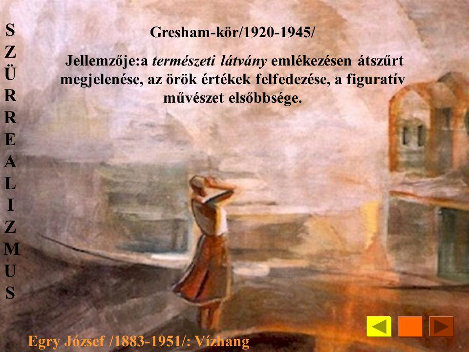 Egry József /1883-1951/: Vízhang