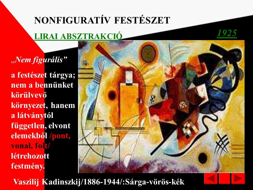 NONFIGURATÍV FESTÉSZET 1925