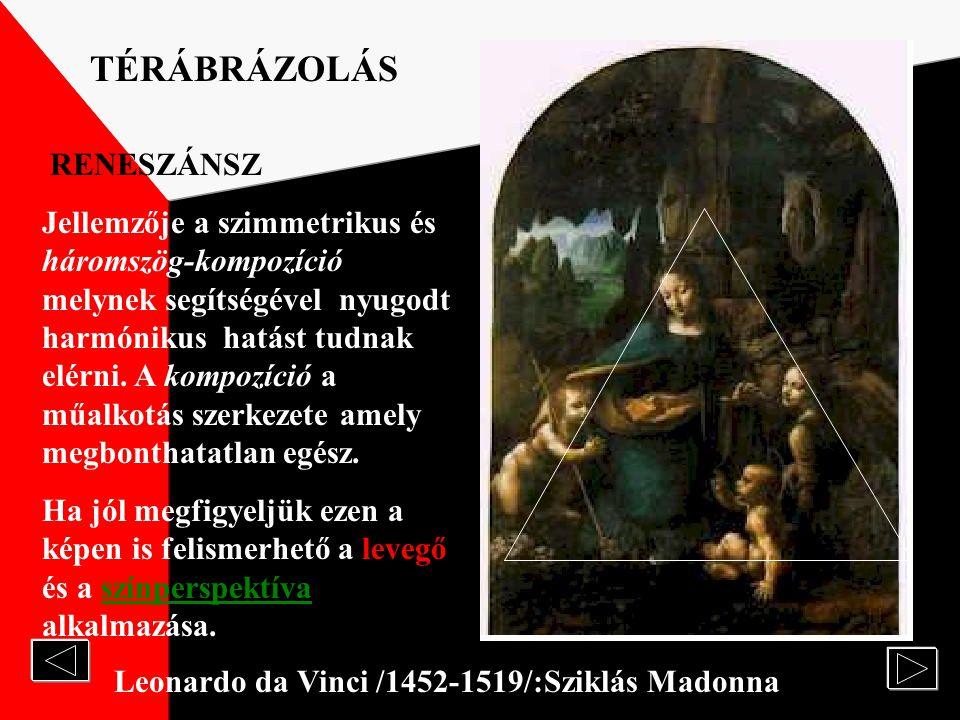 TÉRÁBRÁZOLÁS RENESZÁNSZ