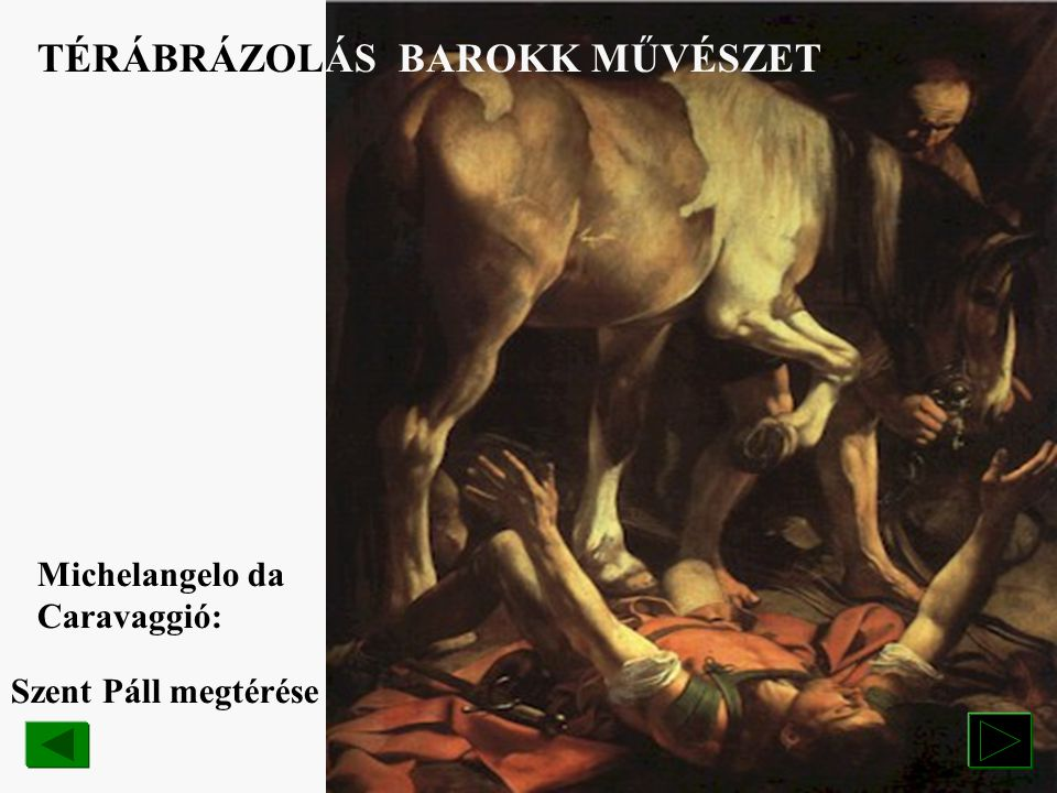 TÉRÁBRÁZOLÁS BAROKK MŰVÉSZET
